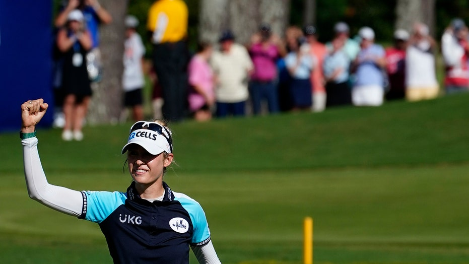 Nelly Korda a major winner and face of American women's golf