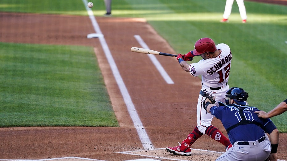 Nats' Schwarber in impressive company with slugging exploits