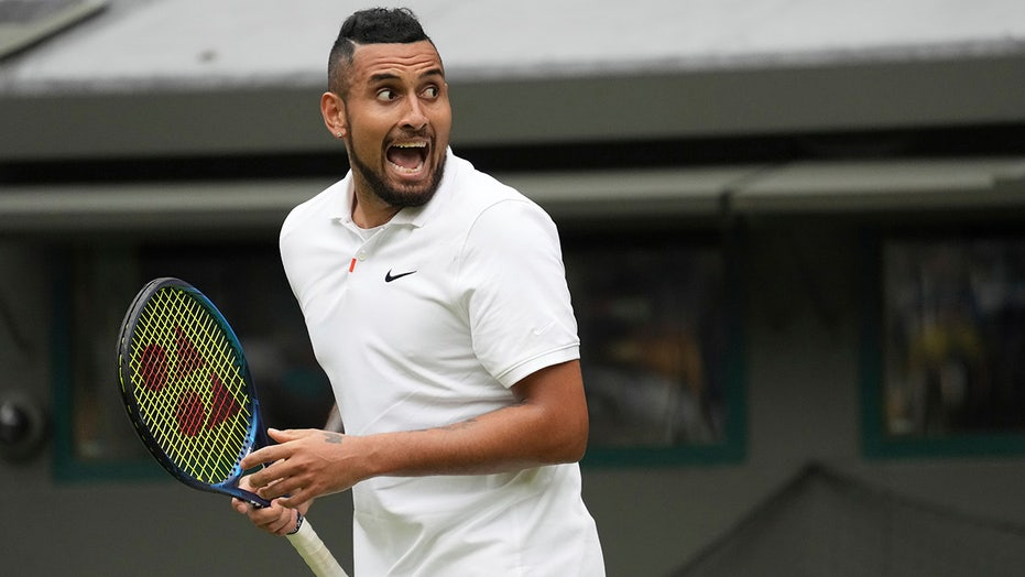 Kyrgios 'not bad for a part-time player' in Wimbledon win