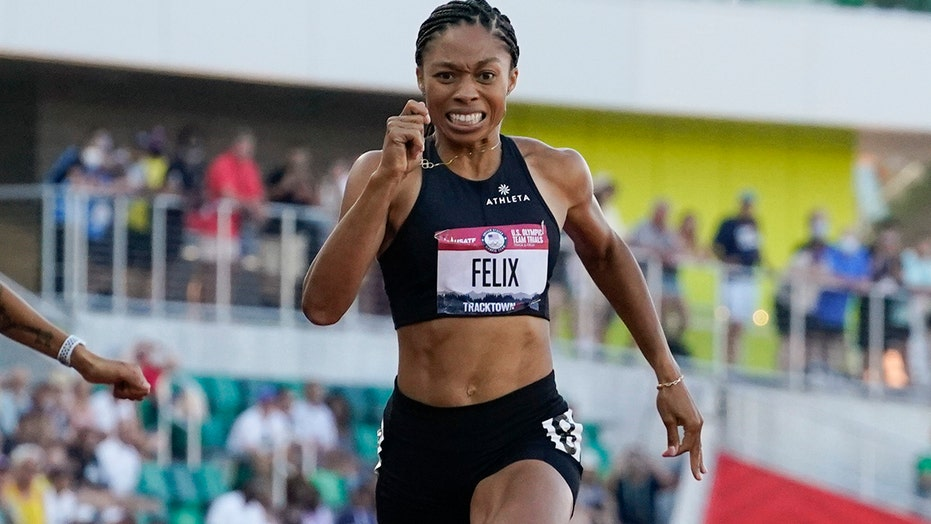 At 35, Felix makes a comeback and lands her 5th Olympics