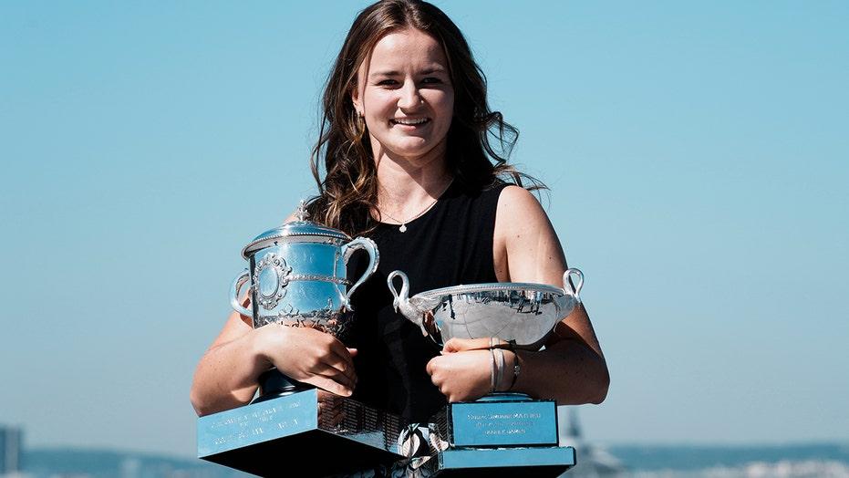 French Open champ Krejcikova 15th in singles, 1st in doubles
