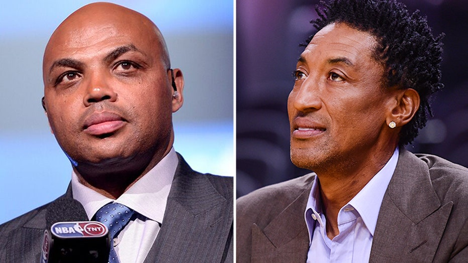 Scottie Pippen reignites Charles Barkley feud: 'He plays his role like he's tough'