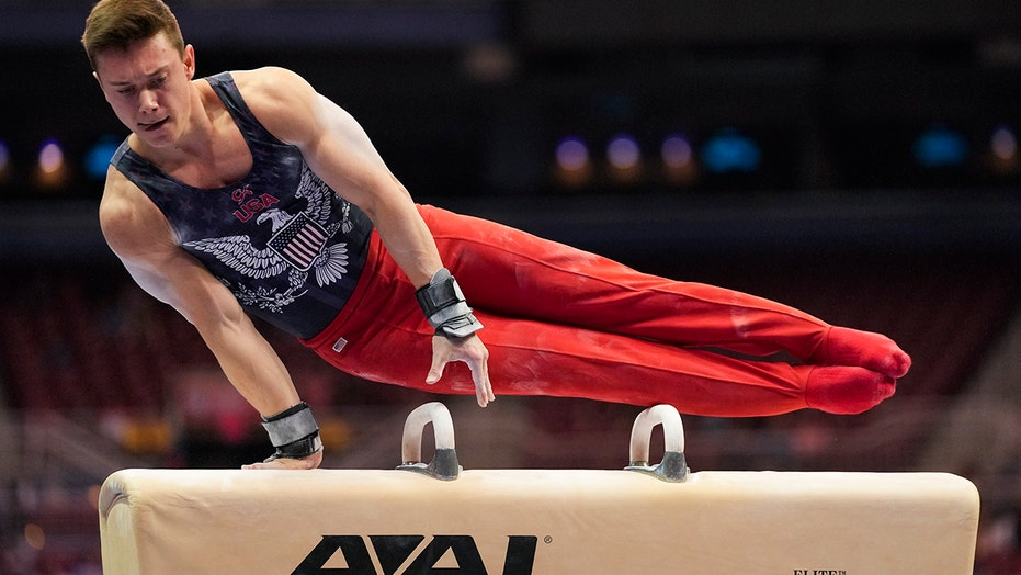 National champ Malone ahead at US Olympic gymnastic trials