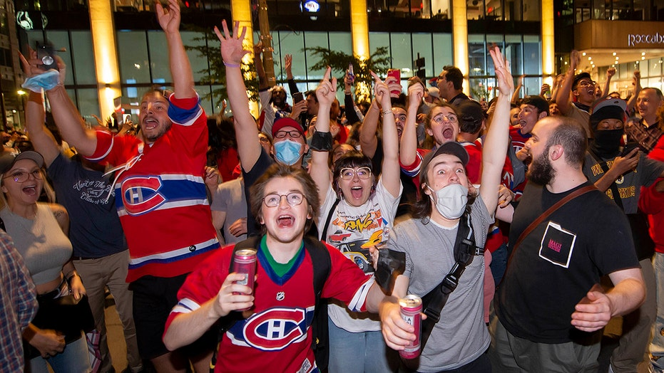 Canadiens fans go wild after team defeats Golden Knights to make Stanley Cup Final