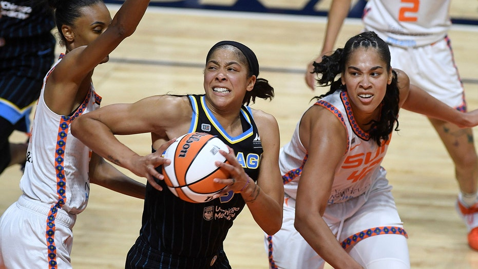 WNBA's Candace Parker becomes first female cover athlete in NBA2K history