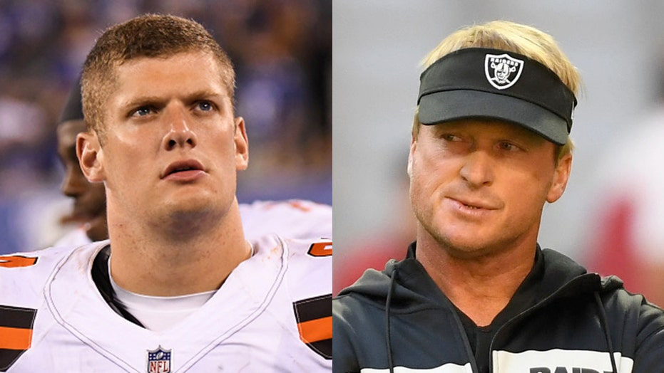 Raiders' Carl Nassib gets support from Jon Gruden: 'What makes a man different is what makes him great'
