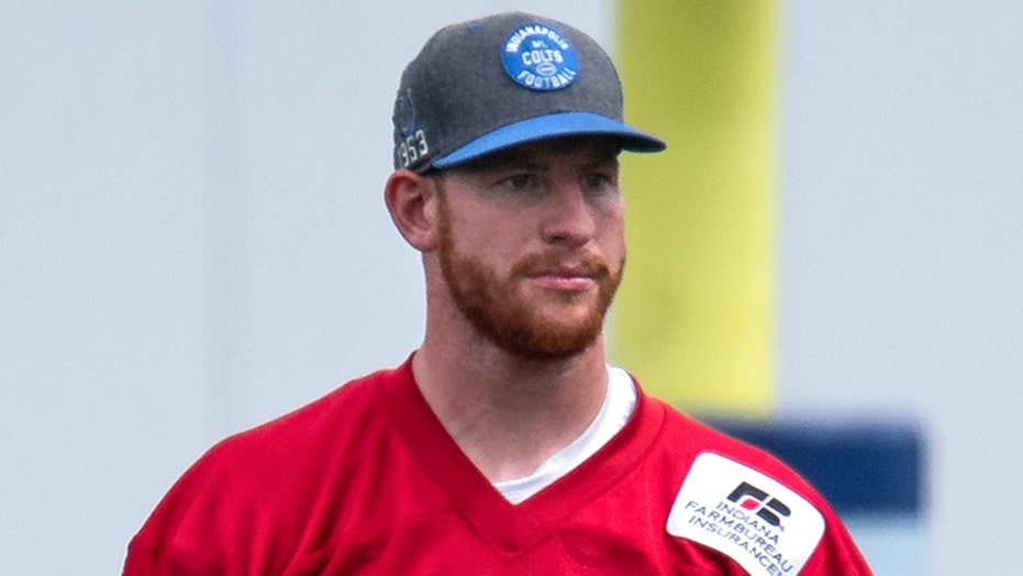 Colts' Carson Wentz offers advice to 49ers' rookie Trey Lance