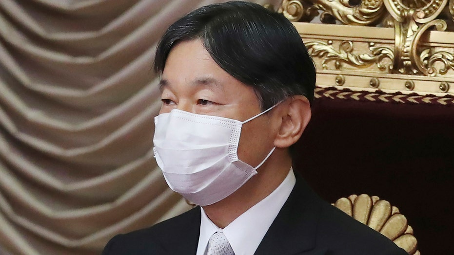 Japan's Emperor Naruhito 'extremely worried' about COVID rates with Olympics near, official says