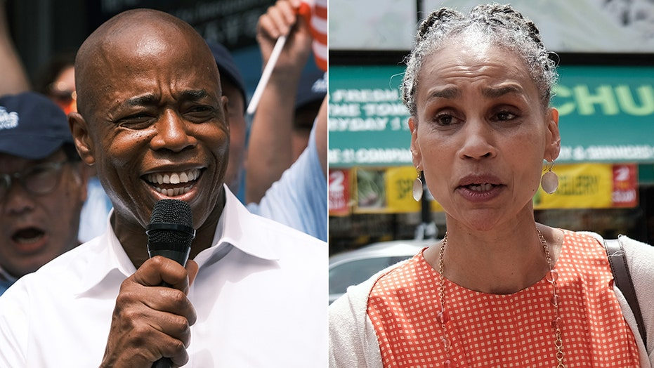Ex-NYPD captain running for mayor slams AOC-backed defund police candidate whose block hired private security