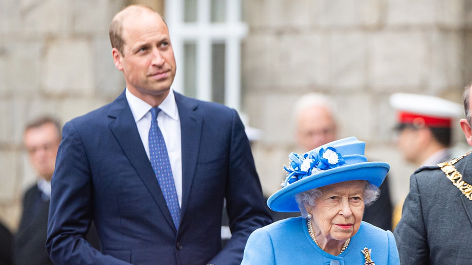 Prince William joins Queen Elizabeth on monarch's first trip to Scotland since Prince Philip's death