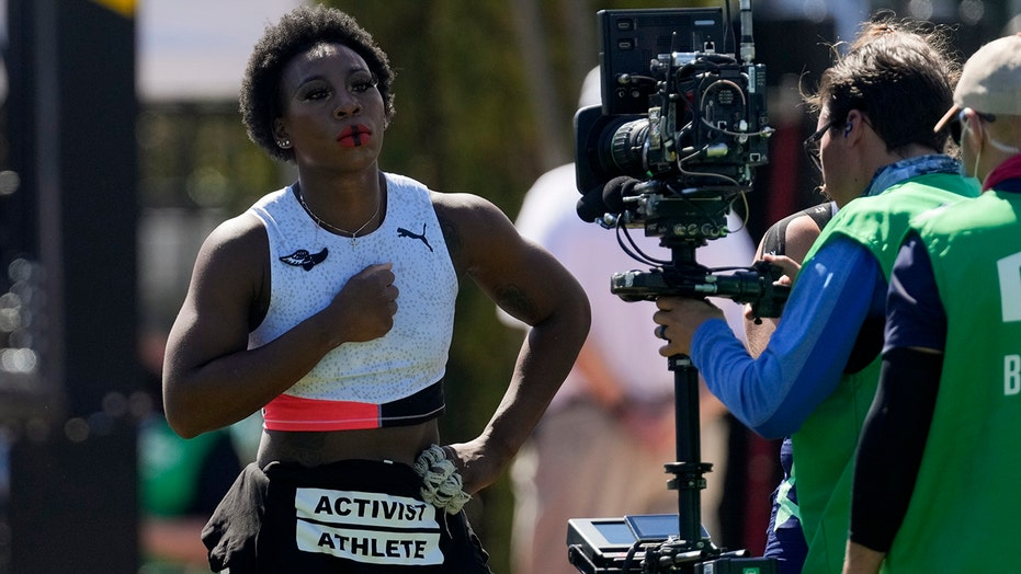 Who is Gwen Berry, the Olympic hammer thrower who snubbed the US flag?