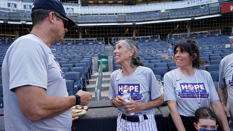 Bat girl 60 years in making reaches Yankee Stadium