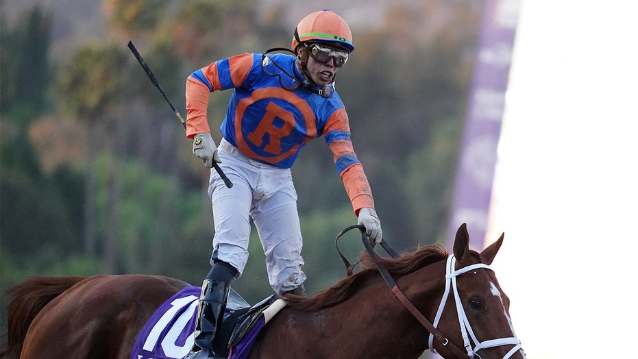 Jockey Irad Ortiz Jr. to miss Belmont Stakes after being tossed by horse, trampled by another