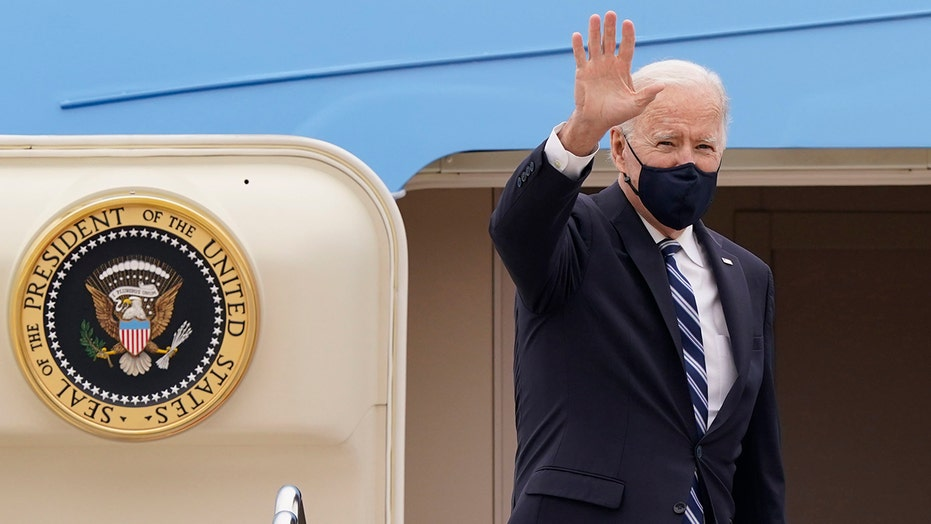 Biden to face global challenges from China, Russia as he departs for first foreign trip
