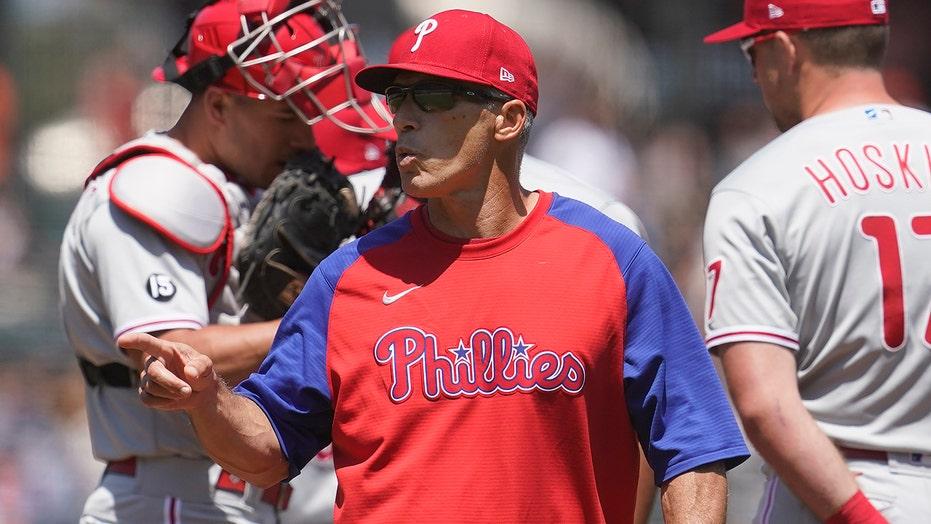 Nationals GM labels Phillies' Joe Girardi as 'con artist' after Max Scherzer incident