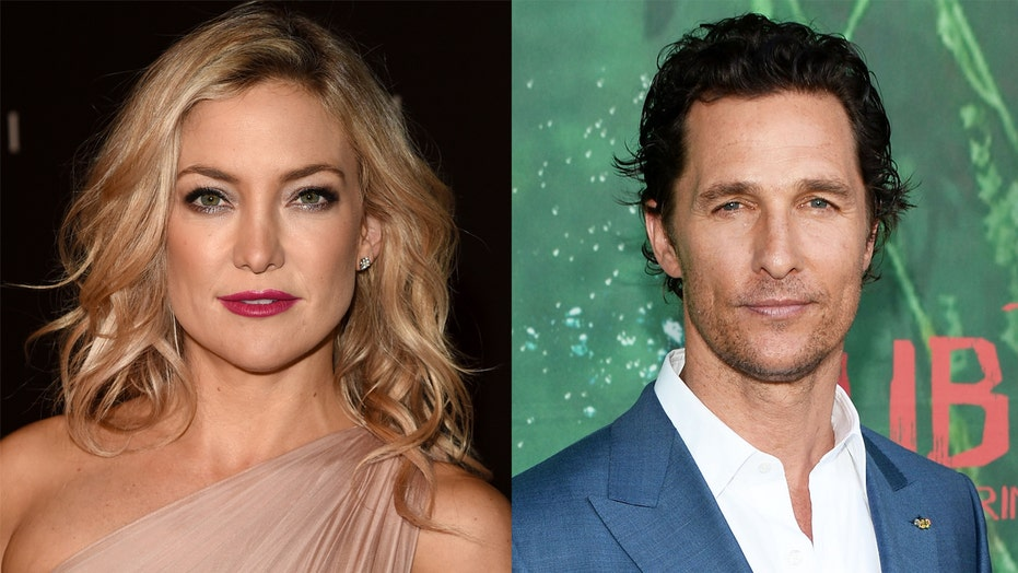 Kate Hudson says Matthew McConaughey has 'a real chance' of winning Texas governor race
