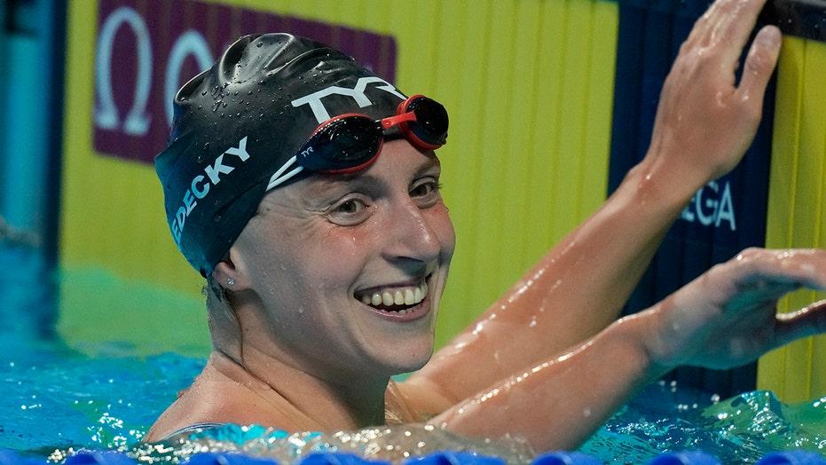 Ledecky wins her shortest, longest races at trials