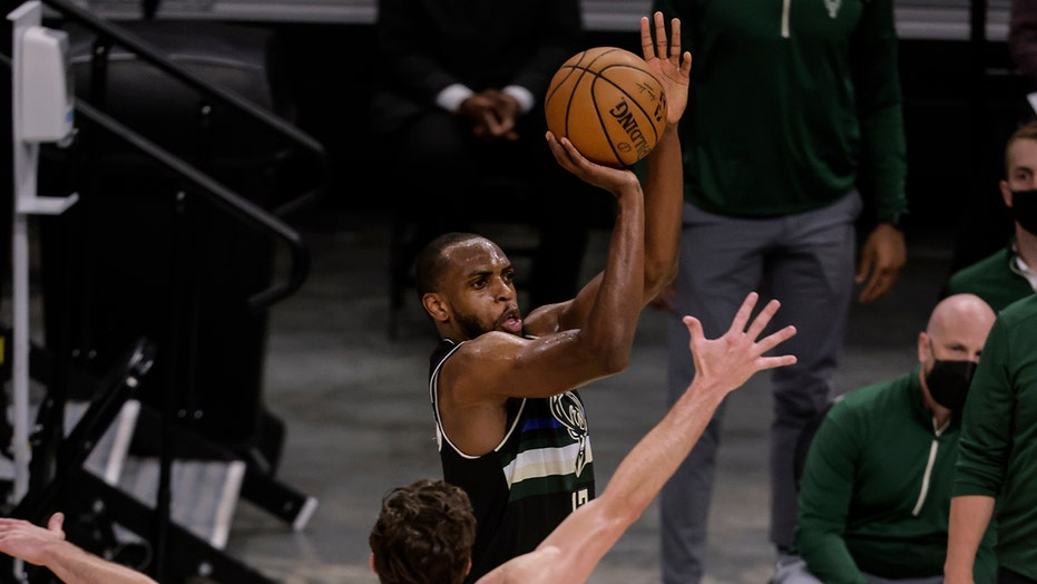 Giannis Antetokounmpo, Khris Middleton deliver for Bucks in win over Nets, force Game 7