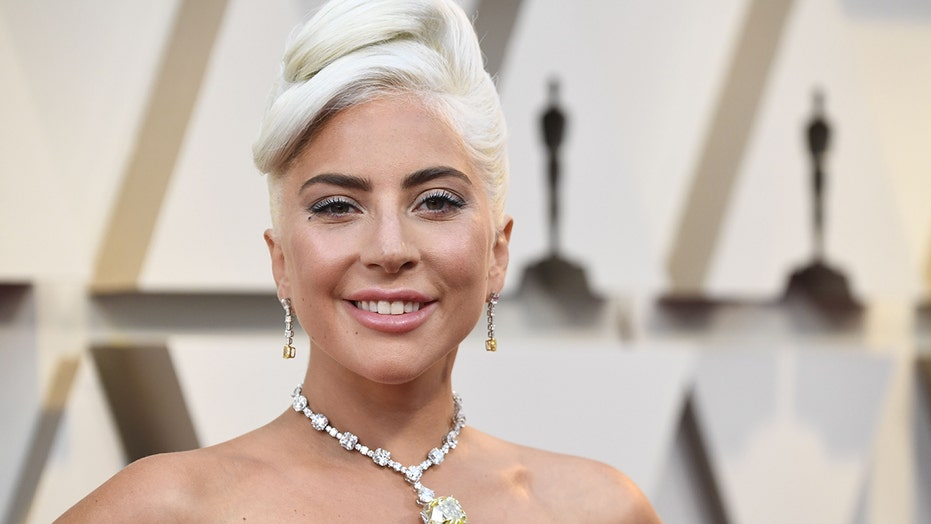 Lady Gaga strikes a pose in plunging camisole for latest Instagram post