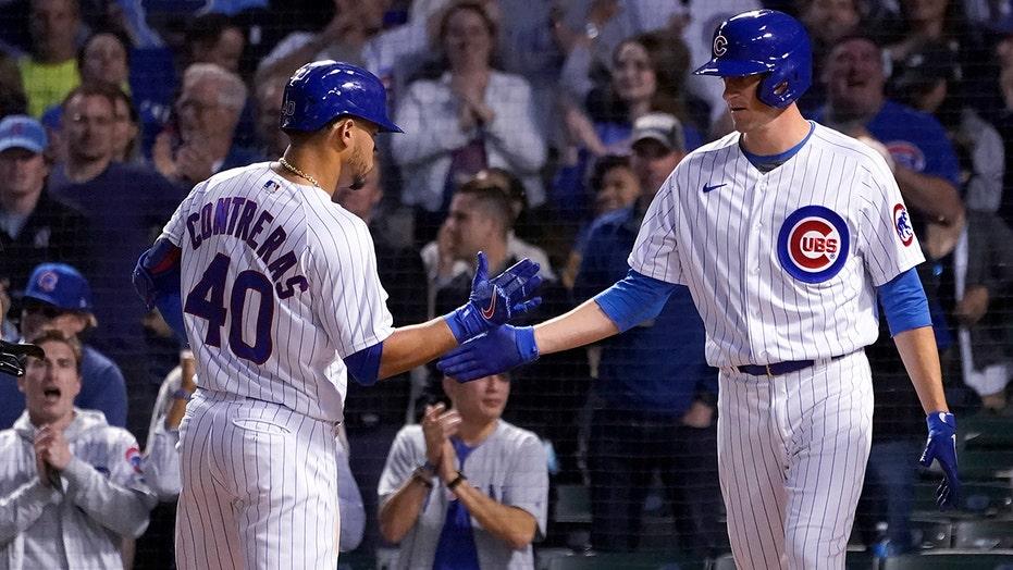 Wisdom, Contreras HR as surging Cubs top Padres; Tatis hurt
