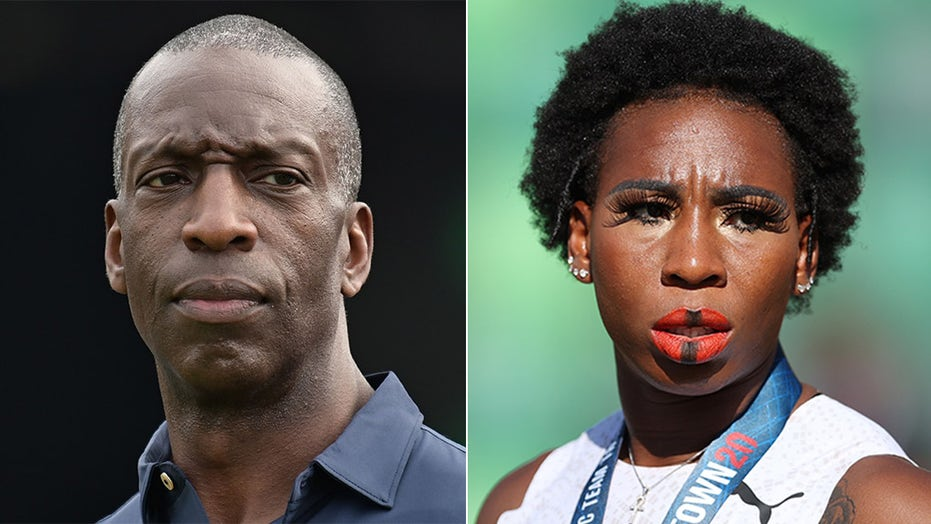 Gwen Berry showed 'courage' in anthem demonstration, Olympic star Michael Johnson says