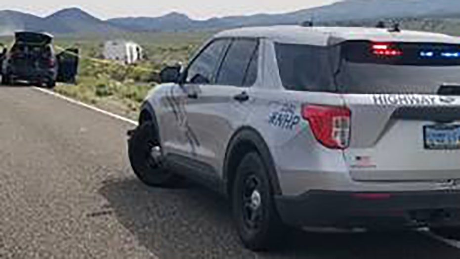 Nevada road worker wounded in highway shooting; suspected gunman dead after police chase, shootout