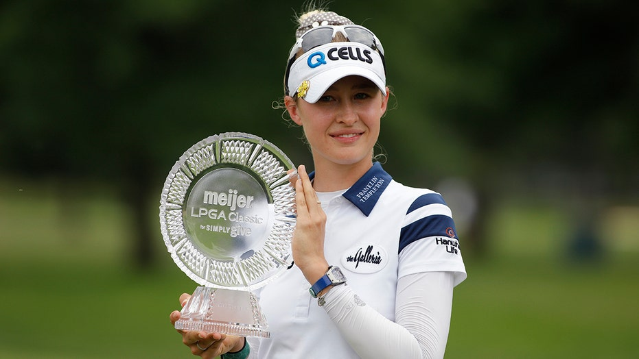 Nelly Korda wins in Michigan for 2nd victory of year