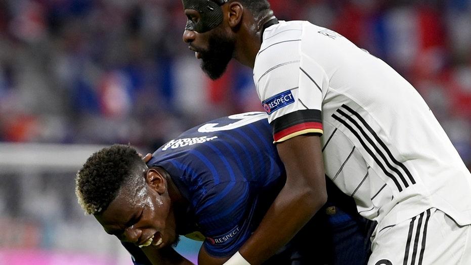 France's Paul Pogba 'bit' during Euro 2020 match vs. Germany