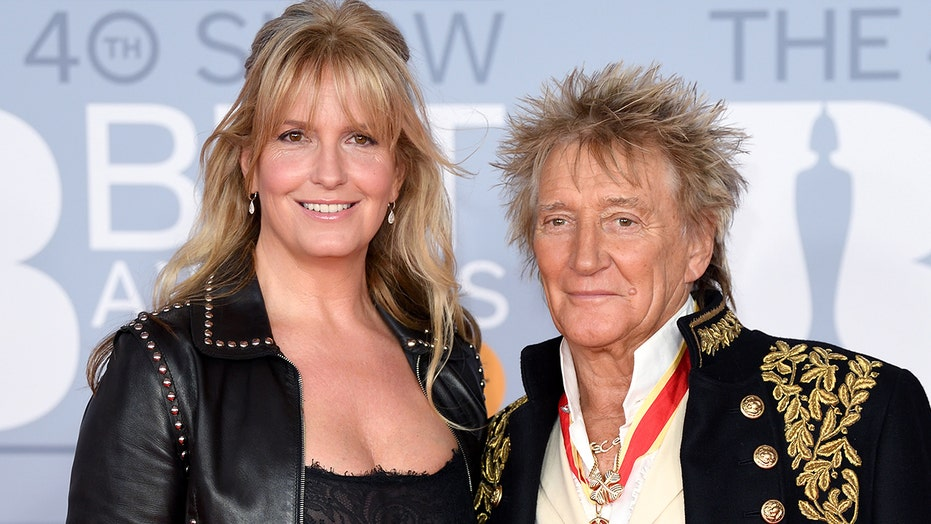 Rod Stewart's wife, model Penny Lancaster, becomes London police officer