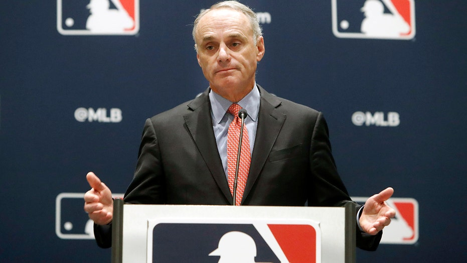 Rob Manfred on MLB's crackdown on foreign substances: 'The first two days have gone very well'