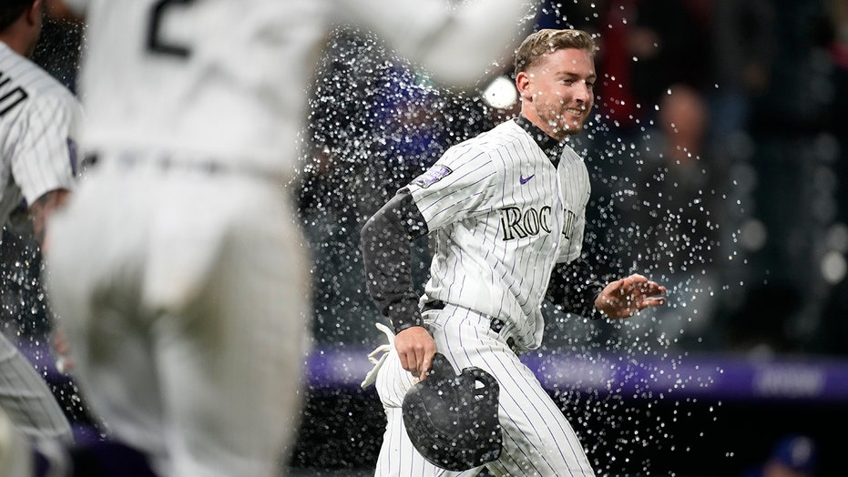 Rox win on wild pitch in 11th; Texas' 13th road loss in row