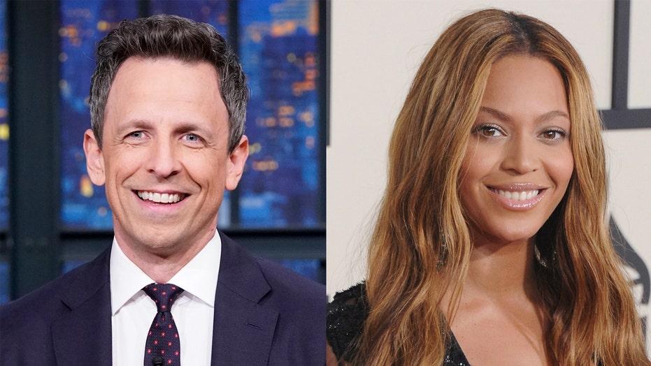 Seth Meyers reveals awkward moment with Beyoncé at 'SNL' celebration