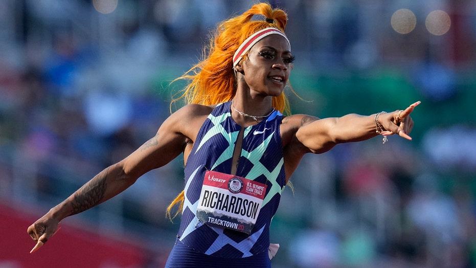 Sha'Carri Richardson puts world on notice at Olympic trials: 'I'm that girl'