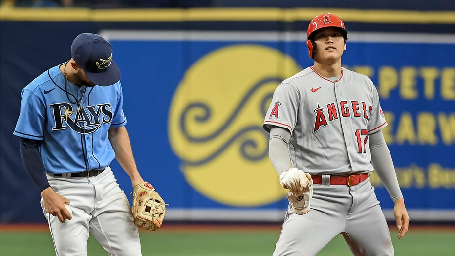 Ohtani hits 25th homer, drives in 3 as Angels beat Rays 6-4