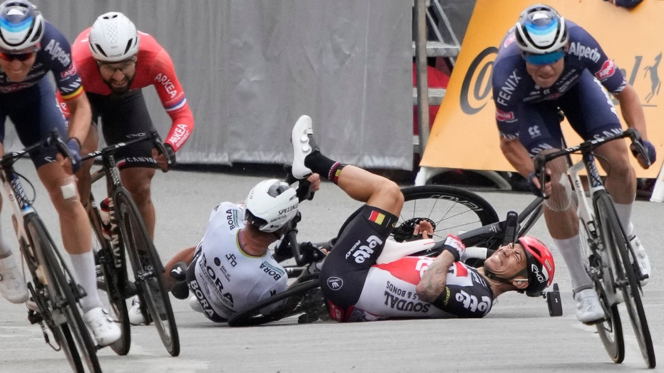 Tour de France riders protest to demand increased safety measures amid spate of crashes