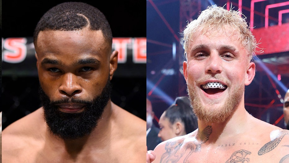 Jake Paul, Tyron Woodley trade barbs after fight made official