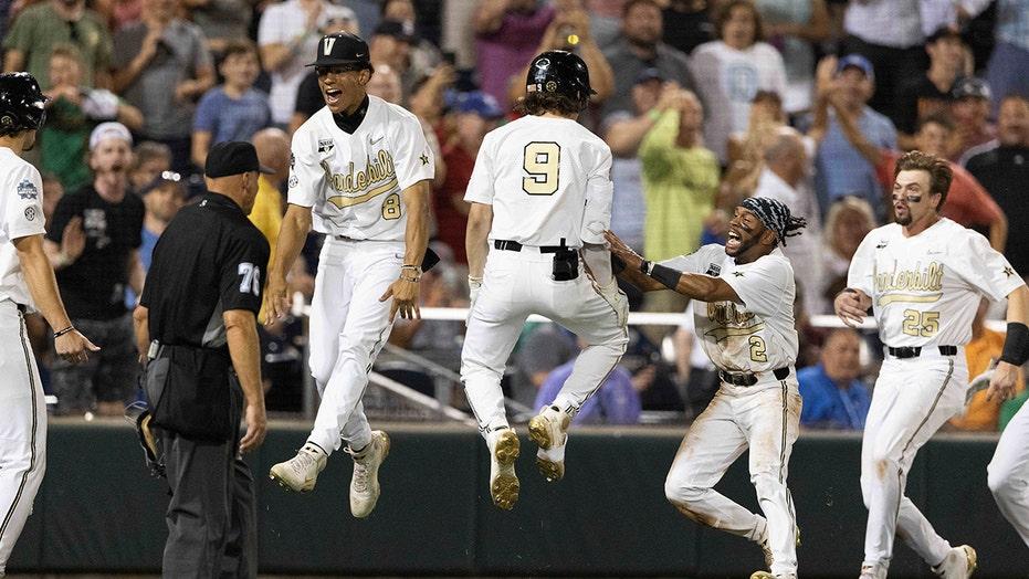Vanderbilt eliminates Stanford on walk-off wild pitch to keep College World Series hopes alive