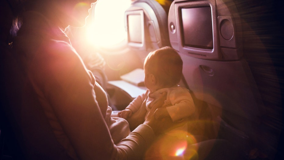 Comedian asks airline passengers to stop getting mad about crying babies on flights