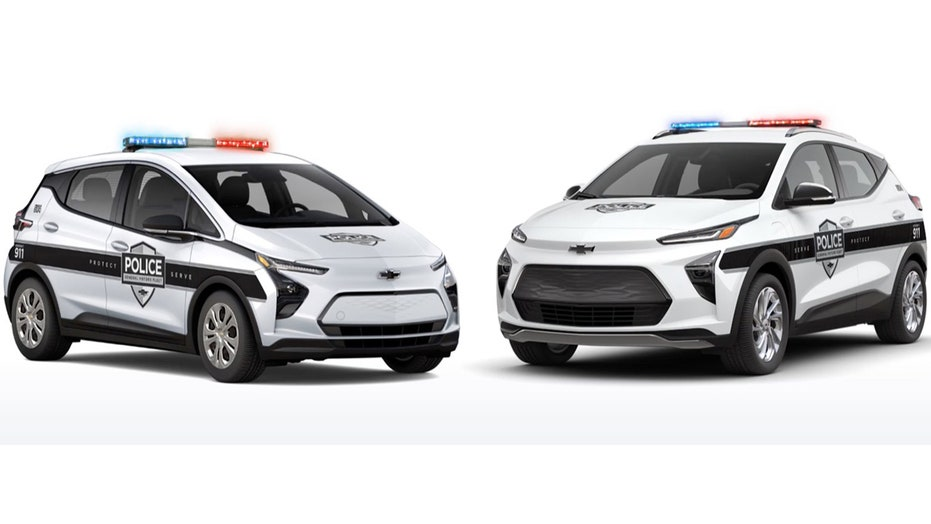 The Chevy Bolt EV is going undercover as stealth cop car