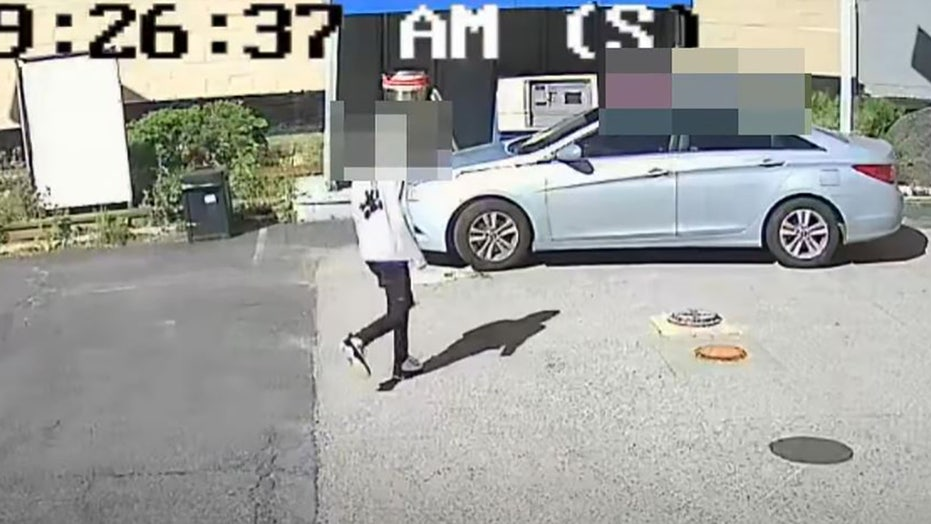 Maryland carjacking video shows DC teens hijack vehicle at gas station with 2-year-old girl in back seat