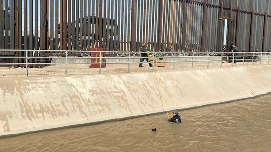 Texas Border Patrol agents rescue drowning migrants; 1 agent injured in a rollover crash