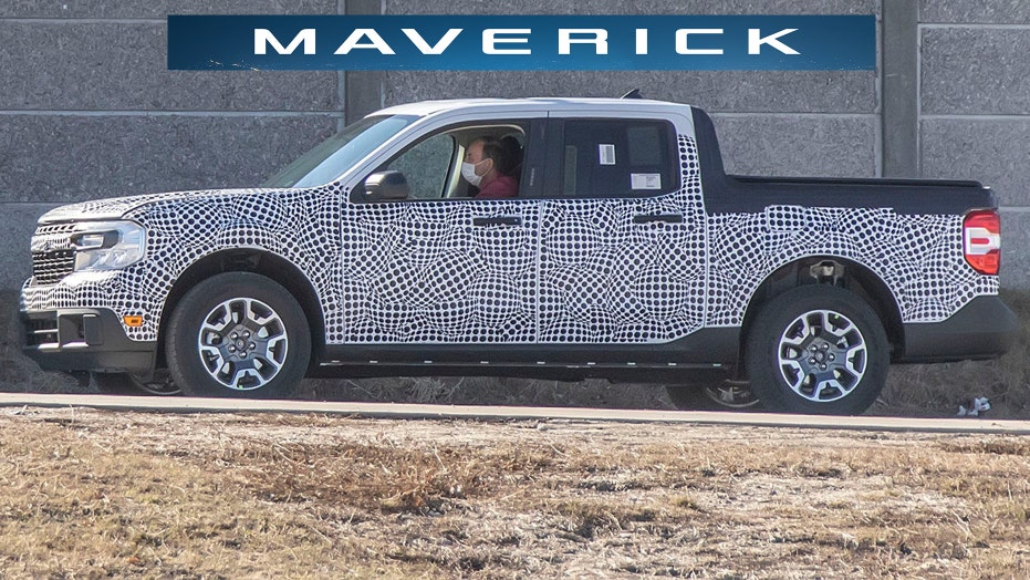2022 Ford Maverick compact pickup to be revealed June 8