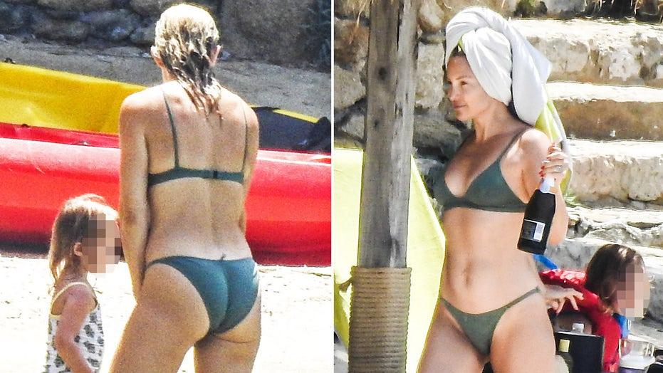 Kate Hudson flaunts bikini bod while on vacation in Greece