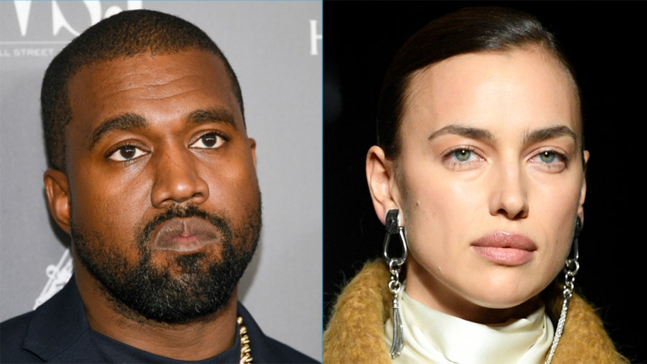 Kanye West spotted in France with model Irina Shayk: report
