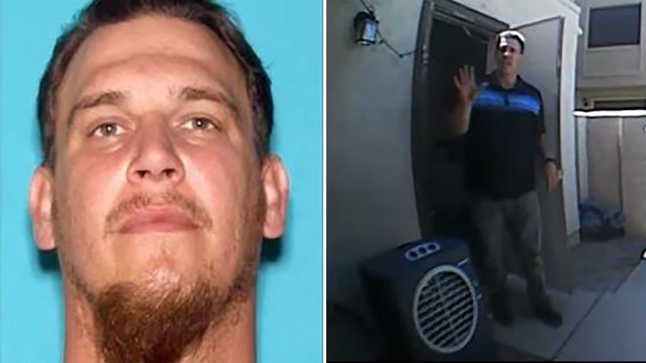 Arizona man wanted after reversing pickup truck into officer during traffic stop, stealing ambulance: police