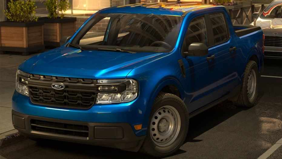Here's what the $20K Ford Maverick pickup actually looks like
