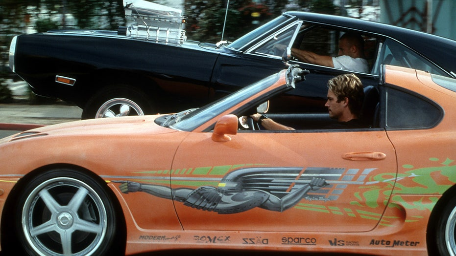 Paul Walker's 'Fast and Furious' Toyota Supra up for auction