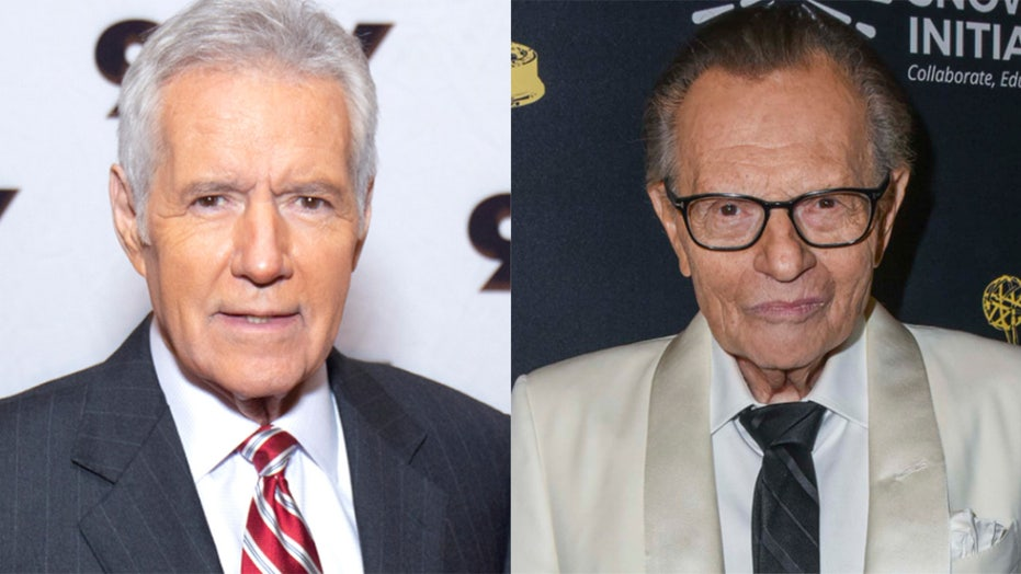 Late TV icons Alex Trebek, Larry King honored at Daytime Emmys