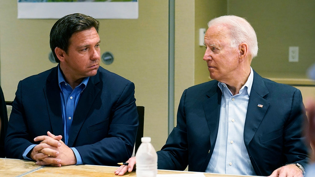 Biden 'checking' to see if he can clamp down on GOP govs' powers