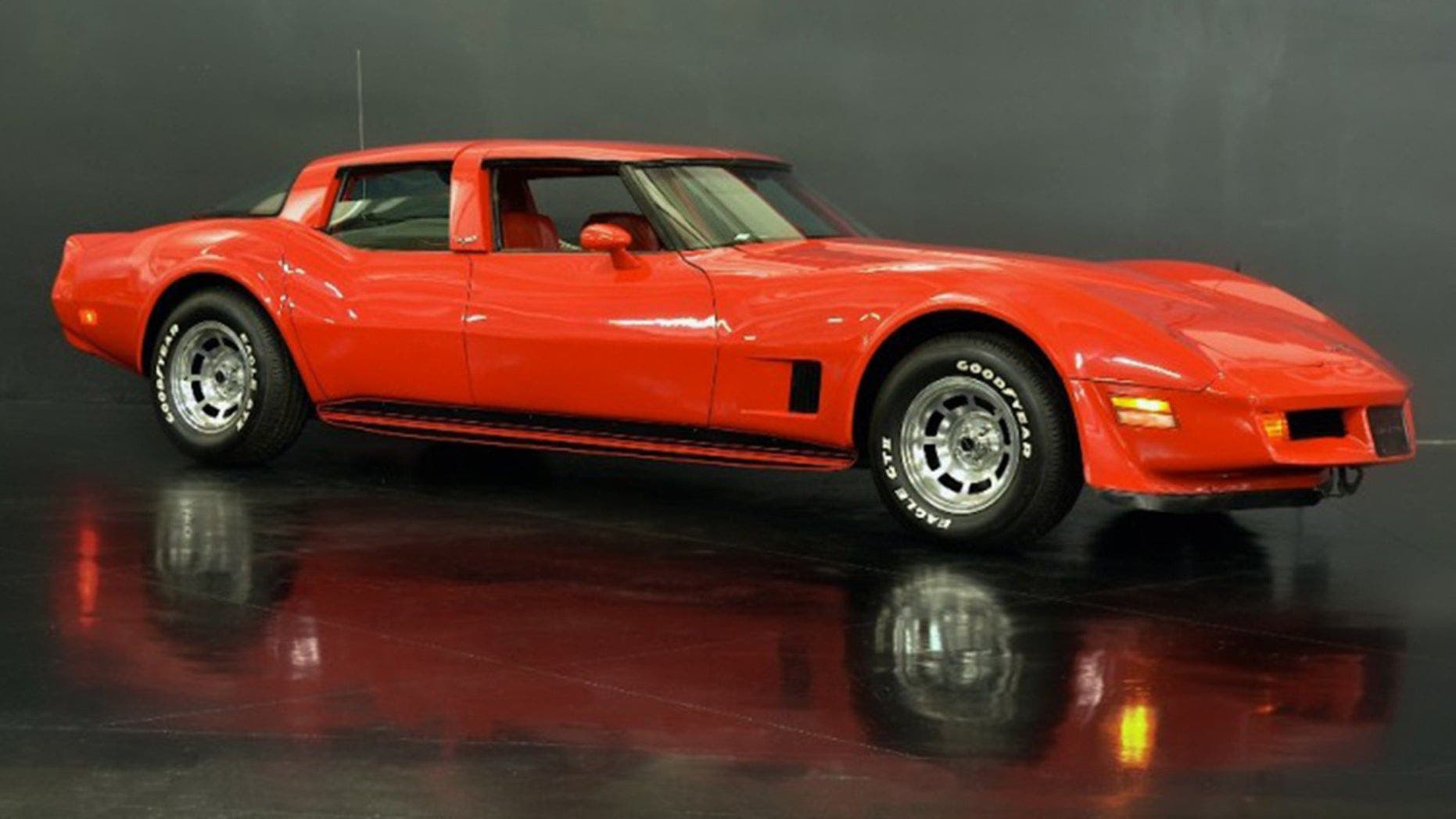 4-seat 1980 Chevrolet Corvette